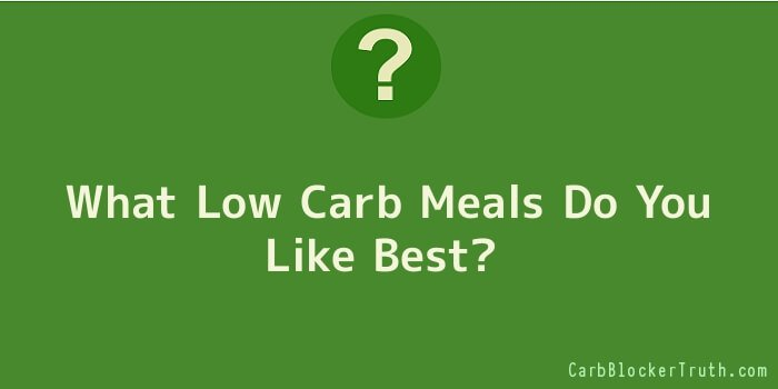 What Low Carb Meals Do You Like Best